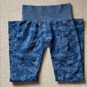 NVGTN Slate Blue Camo leggings